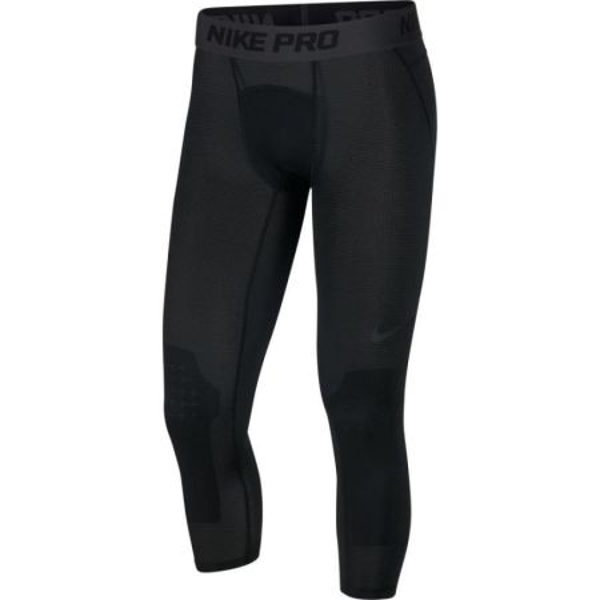 Nike Pro Men's 3/4 Basketball Tights Black