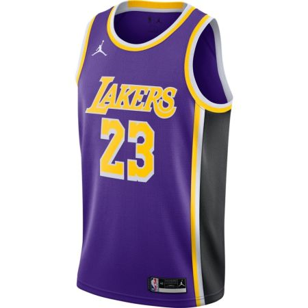 Jordan NBA Lebron James LA Lakers Statement Edition Swingman Jersey