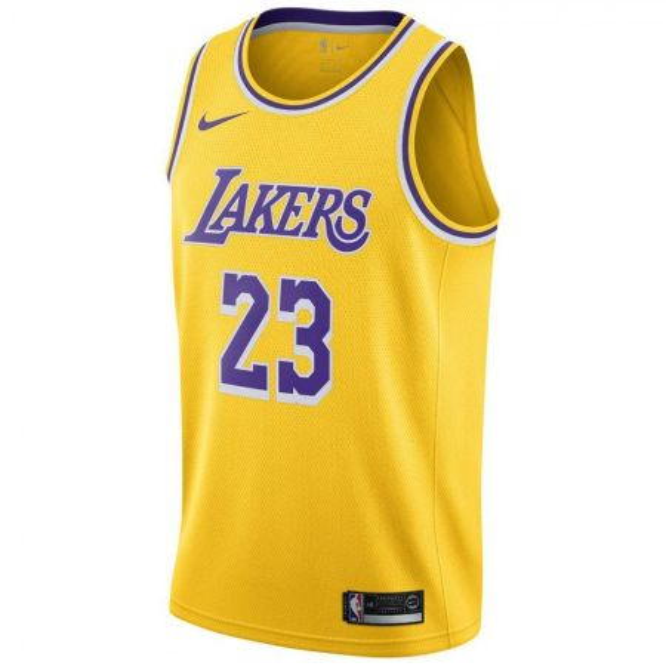 Nike NBA LeBron James Los Angeles Lakers Swingman Jersey
