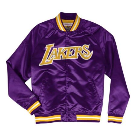 Mitchell & Ness Lightweight Satin Jacket Los Angeles Lakers
