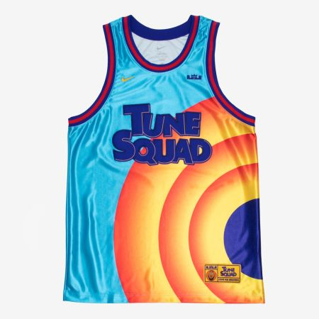 """Nike Lebron James X Space Jam: A New Legacy """"Tune Squad"""" Jersey"""